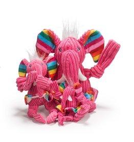 HuggleHounds Rainbow Elephant Knottie