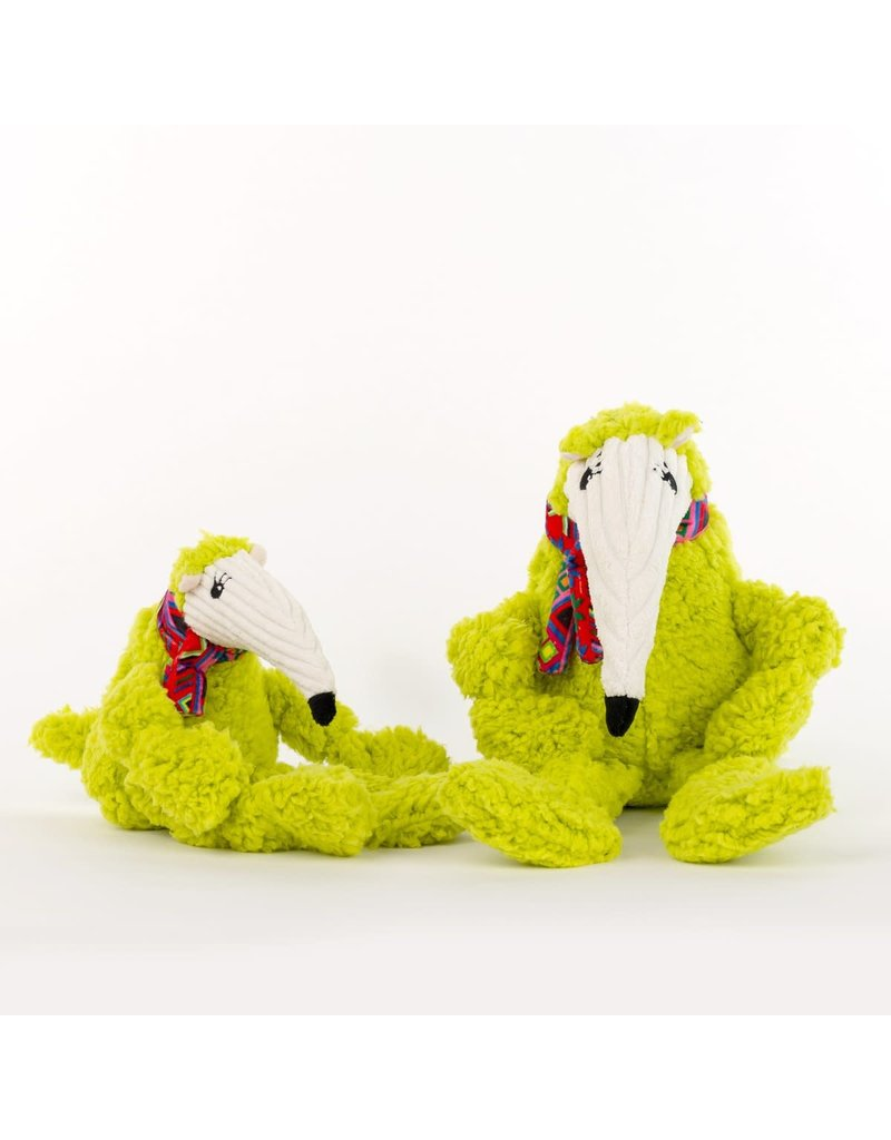 HuggleHounds Wild Things Anteater Knottie Plush Toy