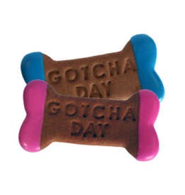 Preppy Puppy Bakery Gotcha Day Bone Cookie