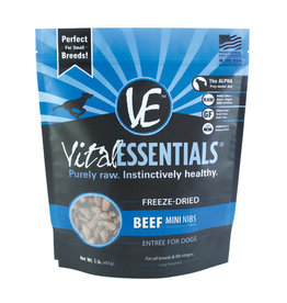 Vital Essentials Vital Essentials Beef Mini Nibs