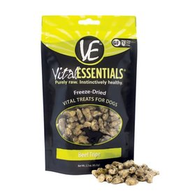 Vital Essentials Beef Tripe Freeze-Dried Grain Free Treats