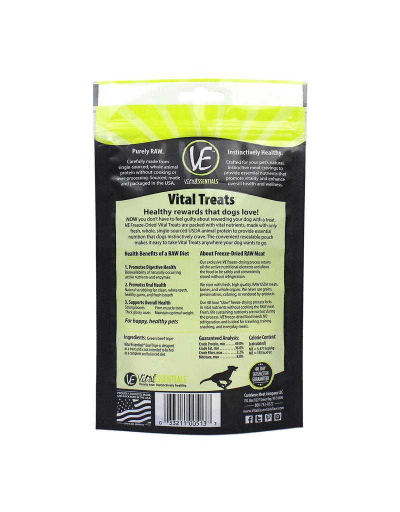 Vital Essentials Beef Tripe Freeze-Dried Grain Free Treats
