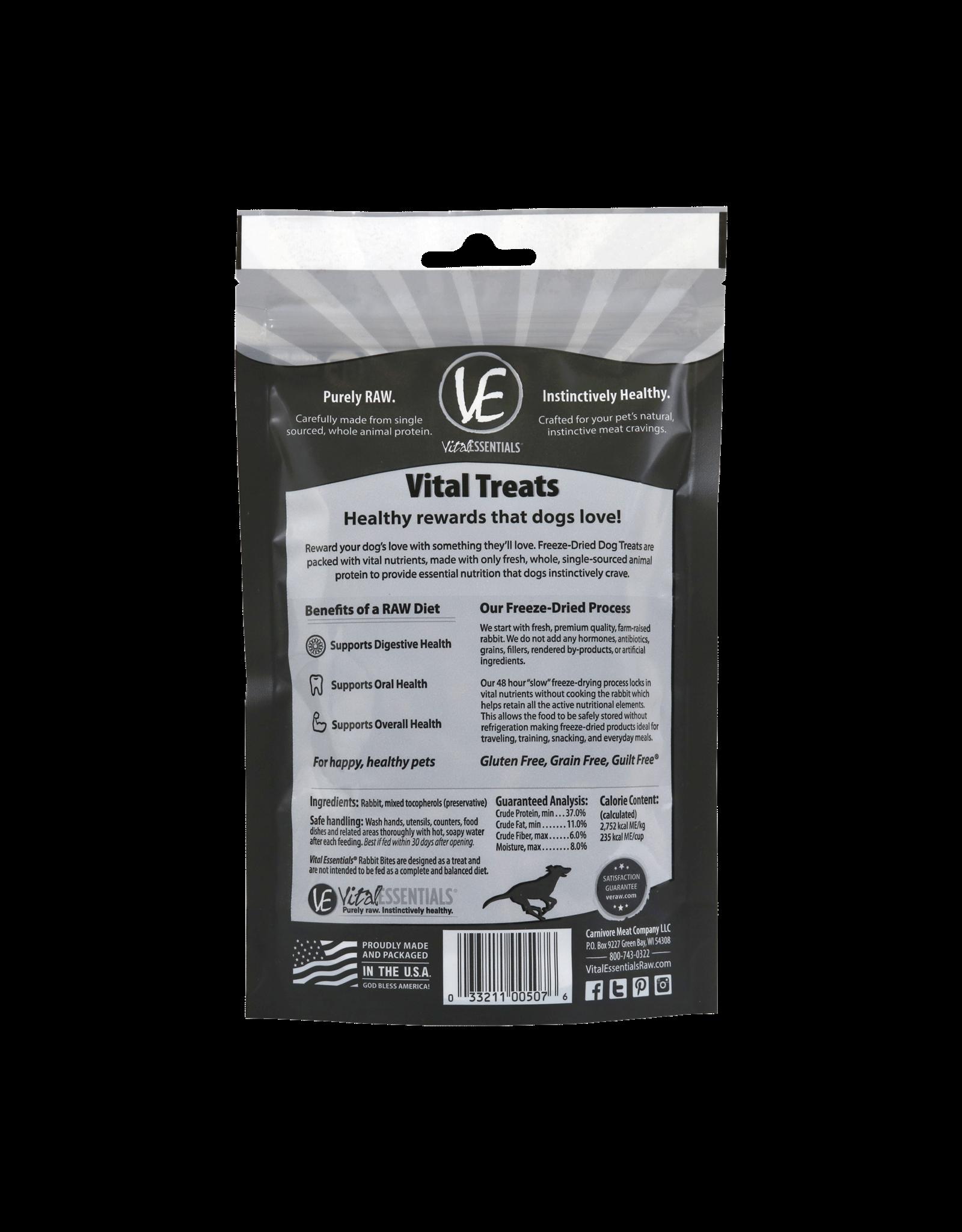 Rabbit Bites Freeze-Dried Grain Free Treats