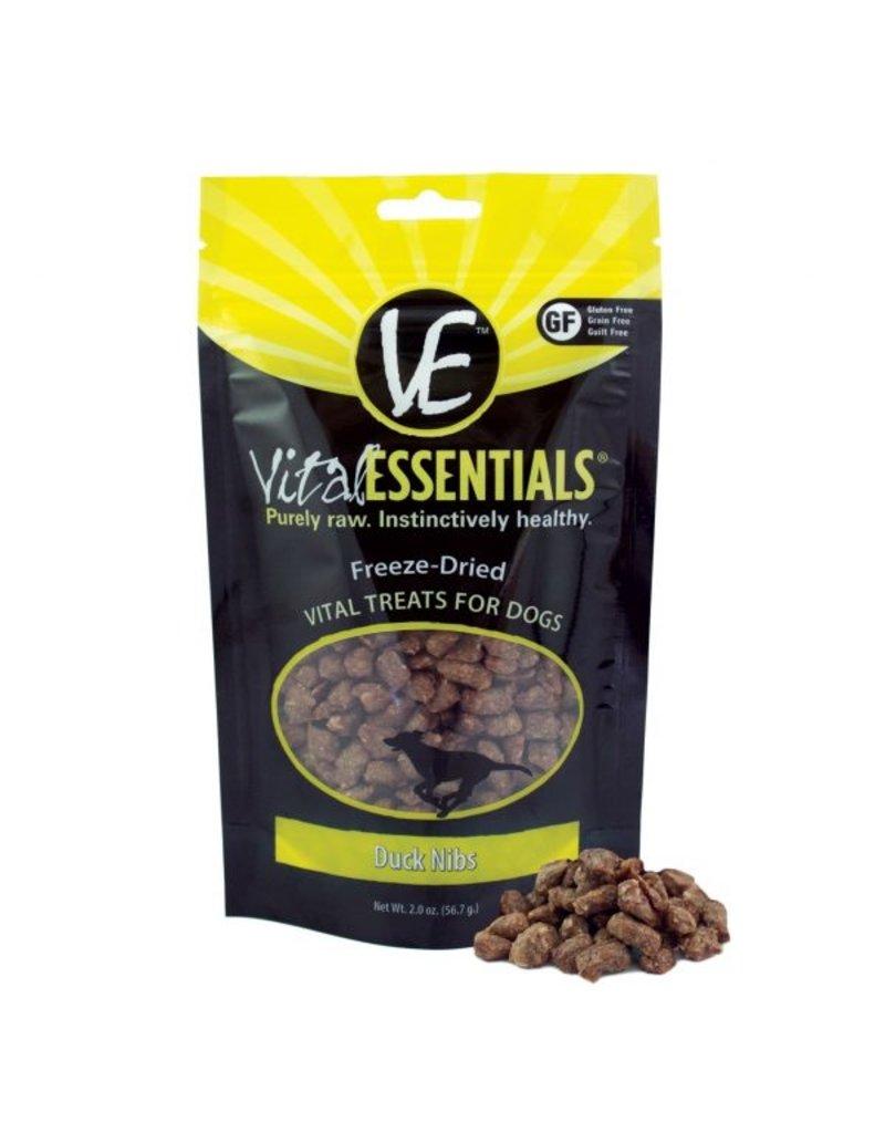 Vital Essentials Duck Nibs Freeze-Dried Grain Free Treats