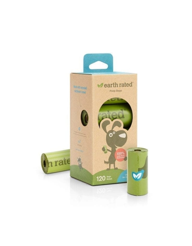 Earth Rated 120 Bags on 8 Refill Rolls - Unscented
