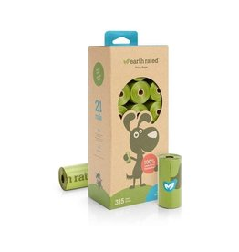 Earth Rated 315 Bags on 21 Refill Rolls - Unscented