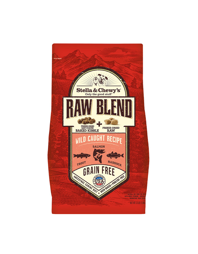 Stella & Chewy's Wild Caught Recipe Raw Blend Baked Kibble