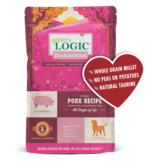 Nature's Logic Distinction Pork Recipe Dry Dog Food