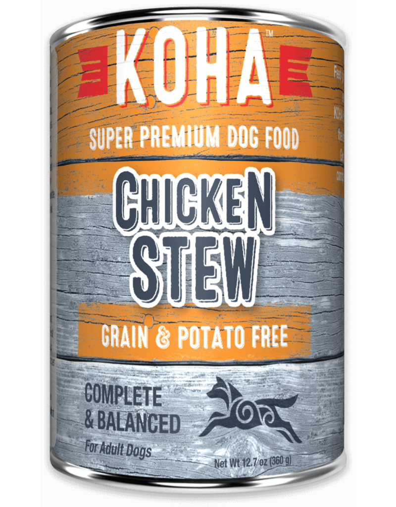 Koha Minimal Ingredient Chicken Stew for Dogs