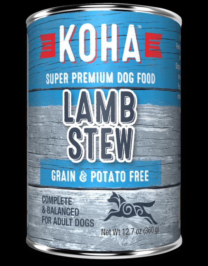 Minimal Ingredient Lamb Stew for Dogs