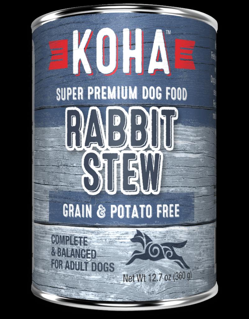 Minimal Ingredient Rabbit Stew for Dogs