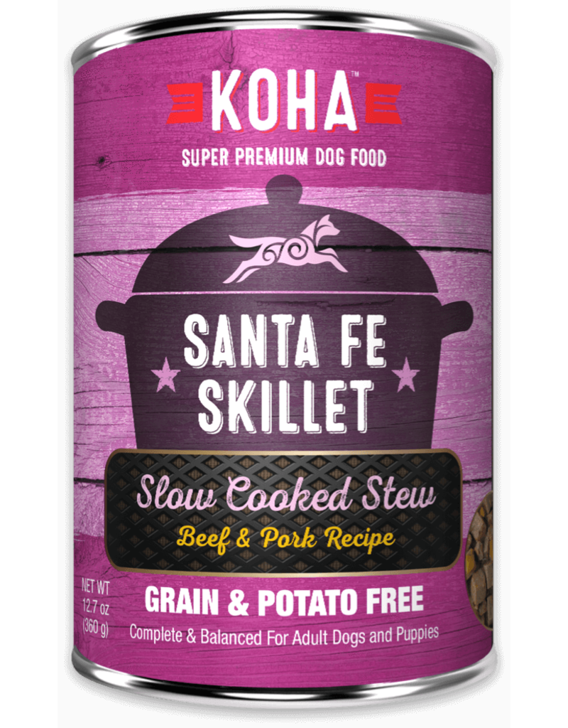 Koha Santa Fe Skillet Slow Cooked Stew Beef & Pork Recipe for Dogs
