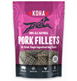 Koha Pork Fillets All Natural Air-Dried Single Ingredient Dog Treats