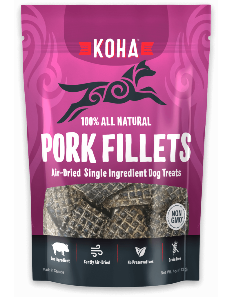 Pork Fillets All Natural Air-Dried Single Ingredient Dog Treats