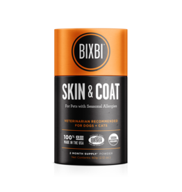 Bixbi Skin & Coat Support Powdered Mushroom Supplement