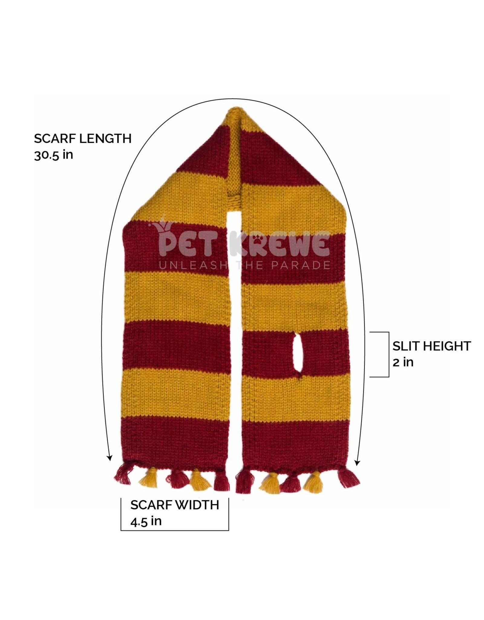 Pet Krewe Hipster Wizard Striped Dog Scarf