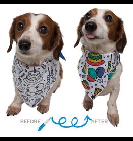 Pet Krewe Birthday Color-your-Own Dog Bandana Kit
