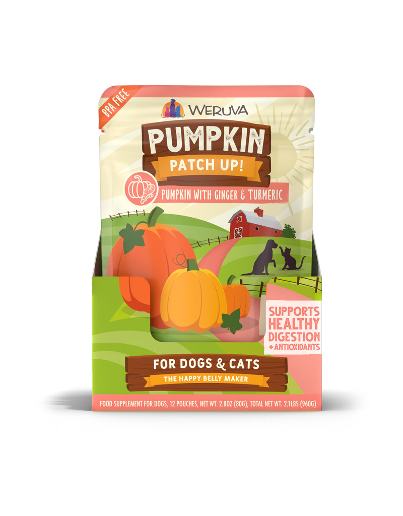 Weruva Weruva Pumpkin Patch Up! Dog & Cat Food Supplement Pouches - Pumpkin with Ginger & Turmeric