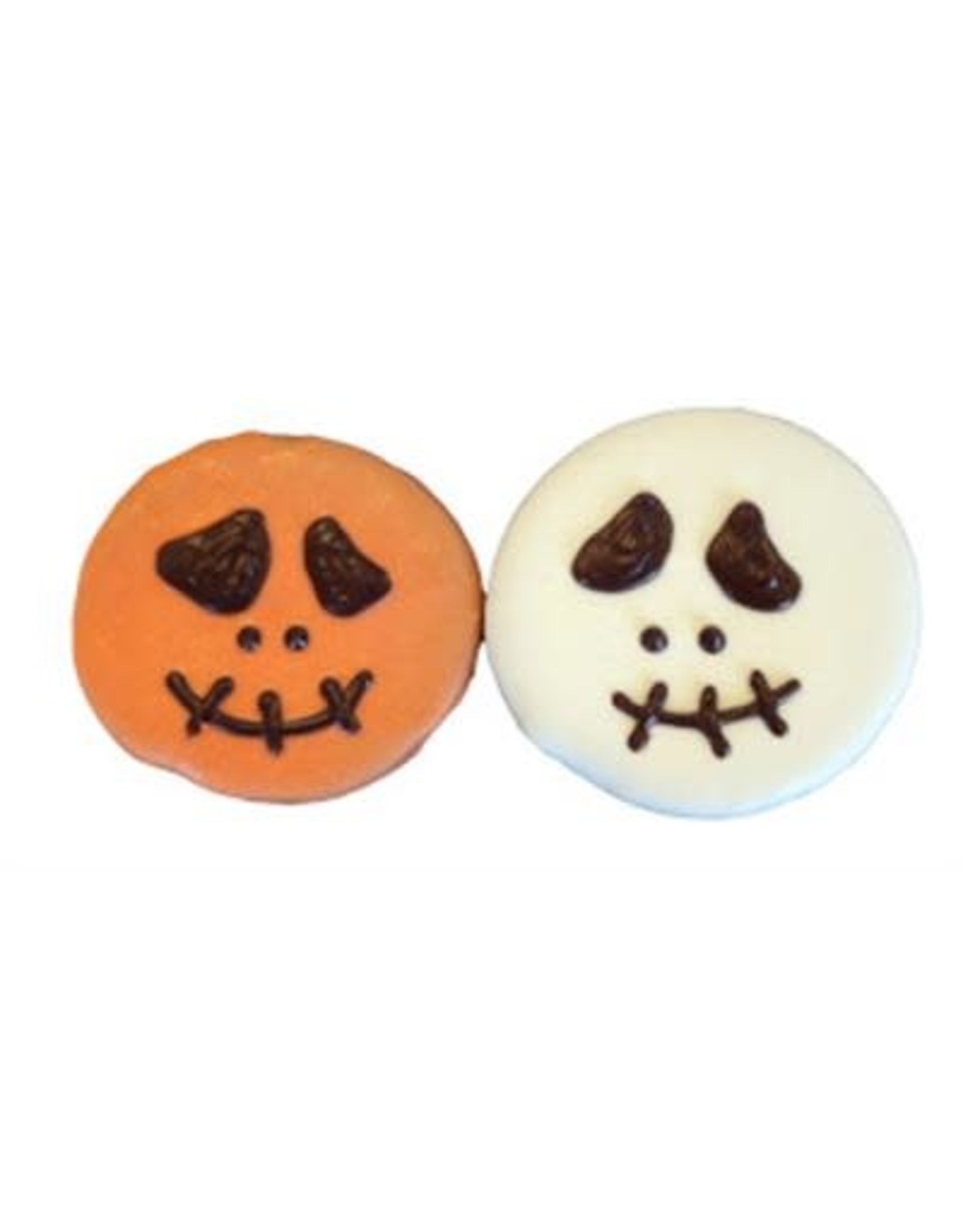 Halloween Spooky Face Cookie - Designer Dog Treat