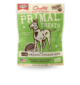 Primal Pet Foods Chip Treats - Chicken Jerky