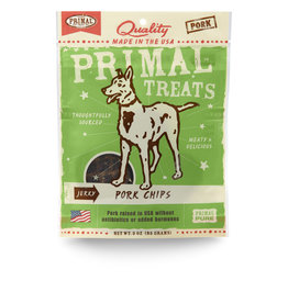 Primal Pet Foods Chip Treats - Pork Jerky