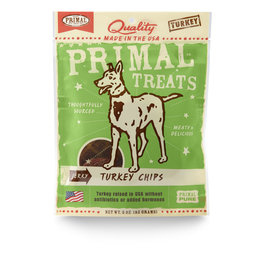 Primal Pet Foods Chip Treats - Turkey Jerky