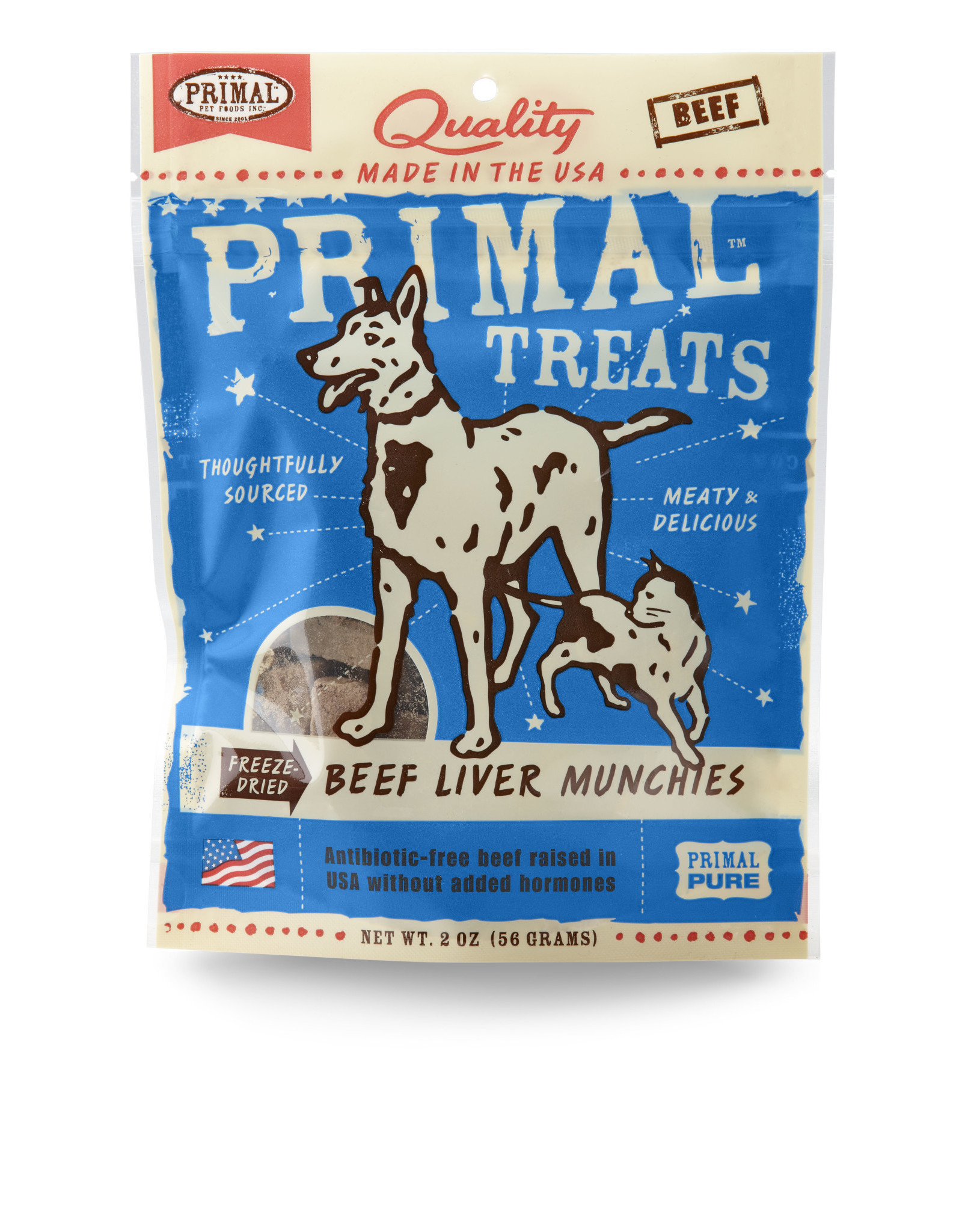Primal Munchies Treats - Freeze-Dried Beef Liver