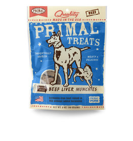 Primal Pet Foods Munchies Treats - Beef Liver