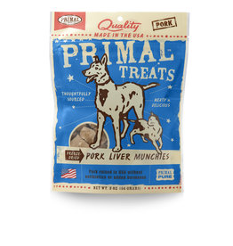 Primal Pet Foods Munchies Treats - Pork Liver