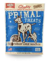 Primal Munchies Treats - Freeze-Dried Turkey Liver