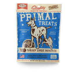 Primal Pet Foods Munchies Treats - Turkey Liver
