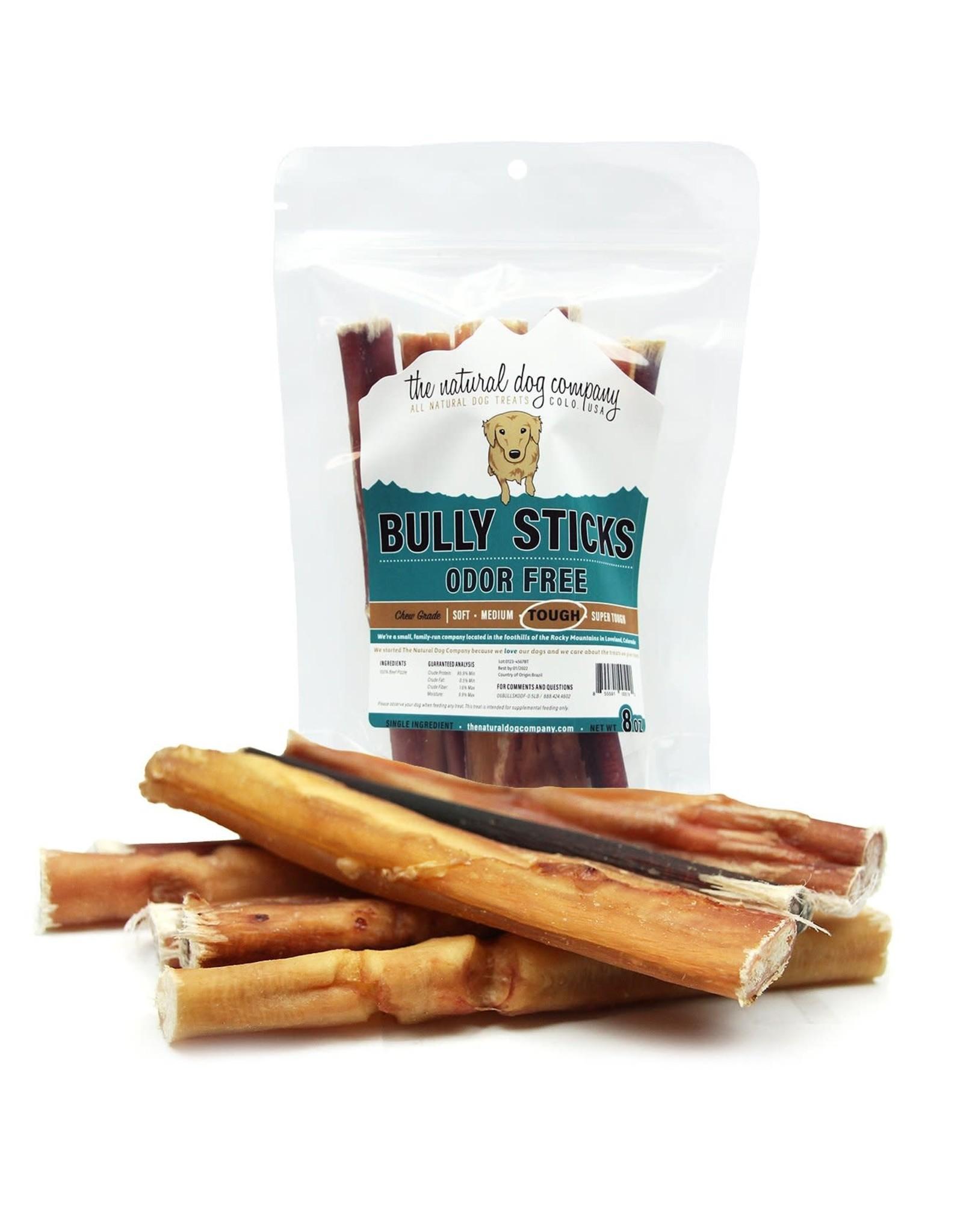 6in Standard Bully Sticks - Odor Free