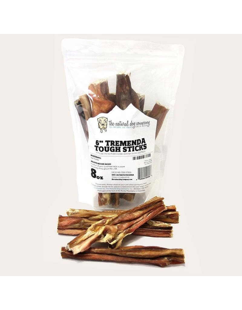 The Natural Dog Company 6in Tremenda Tough Stick