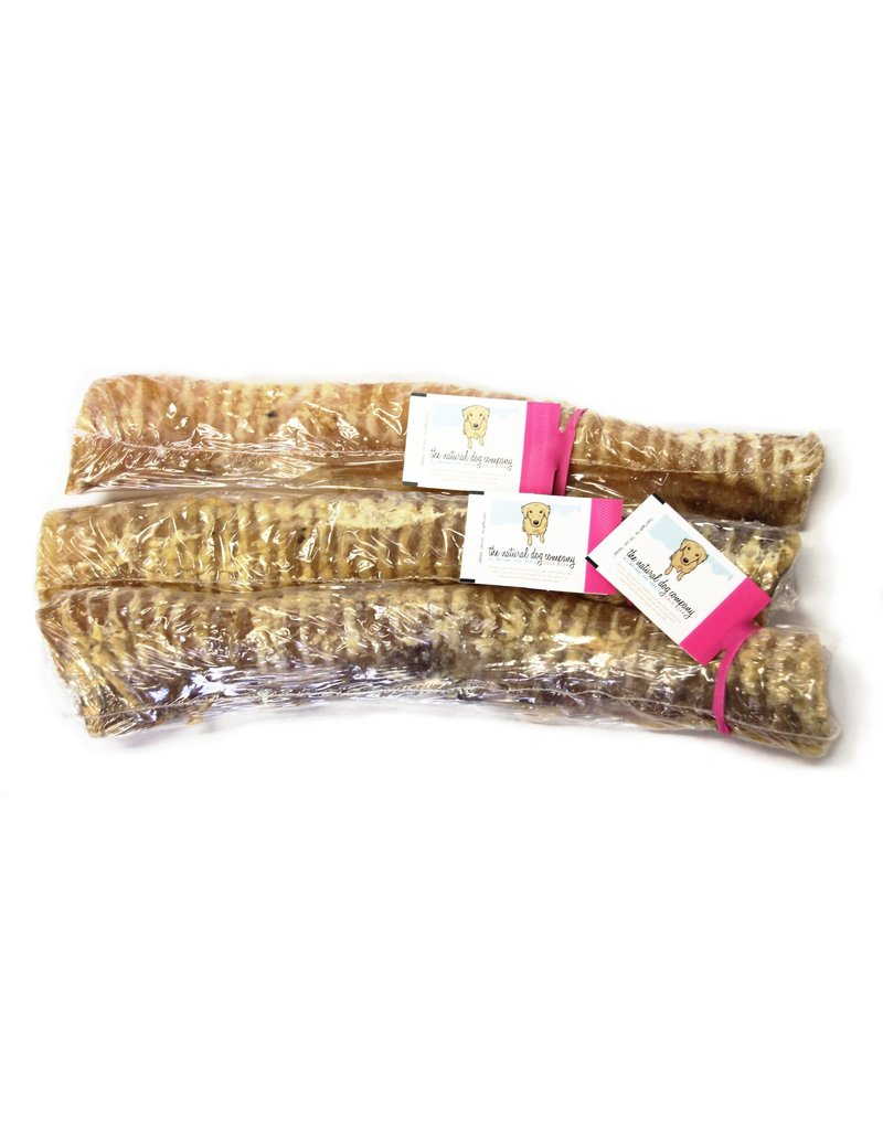 The Natural Dog Company 12in Beef Trachea
