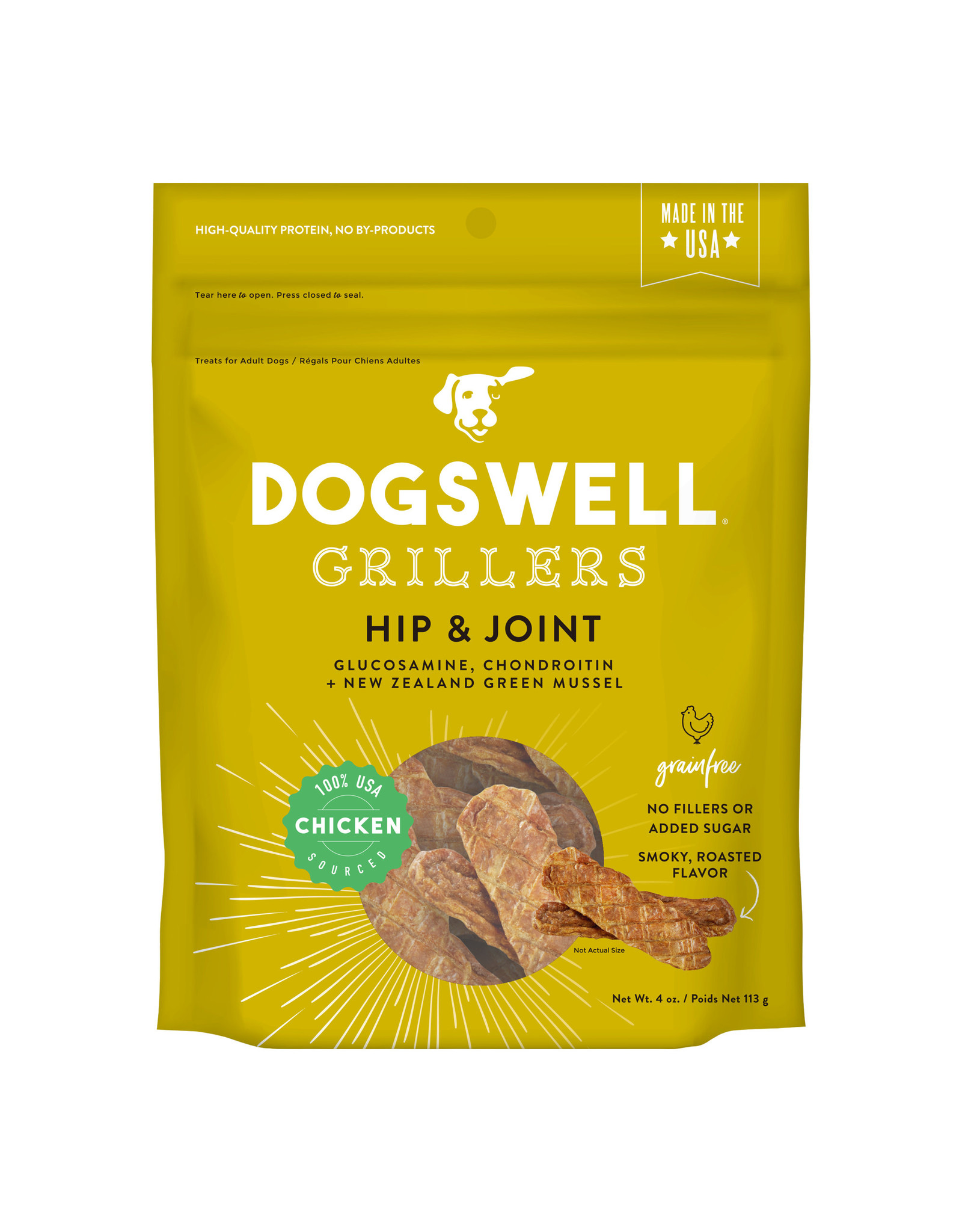 Dogswell Dogswell Hip & Joint Chicken Grillers