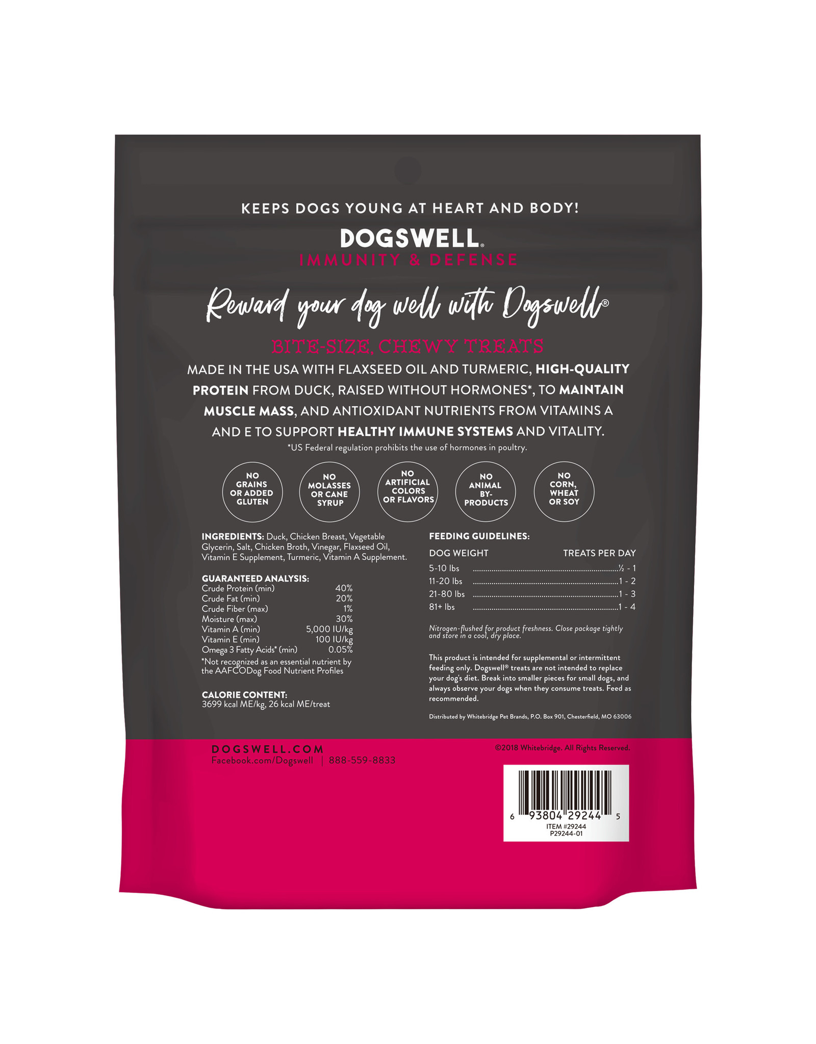 Dogswell Dogswell Immunity & Defense Duck Mini Jerky