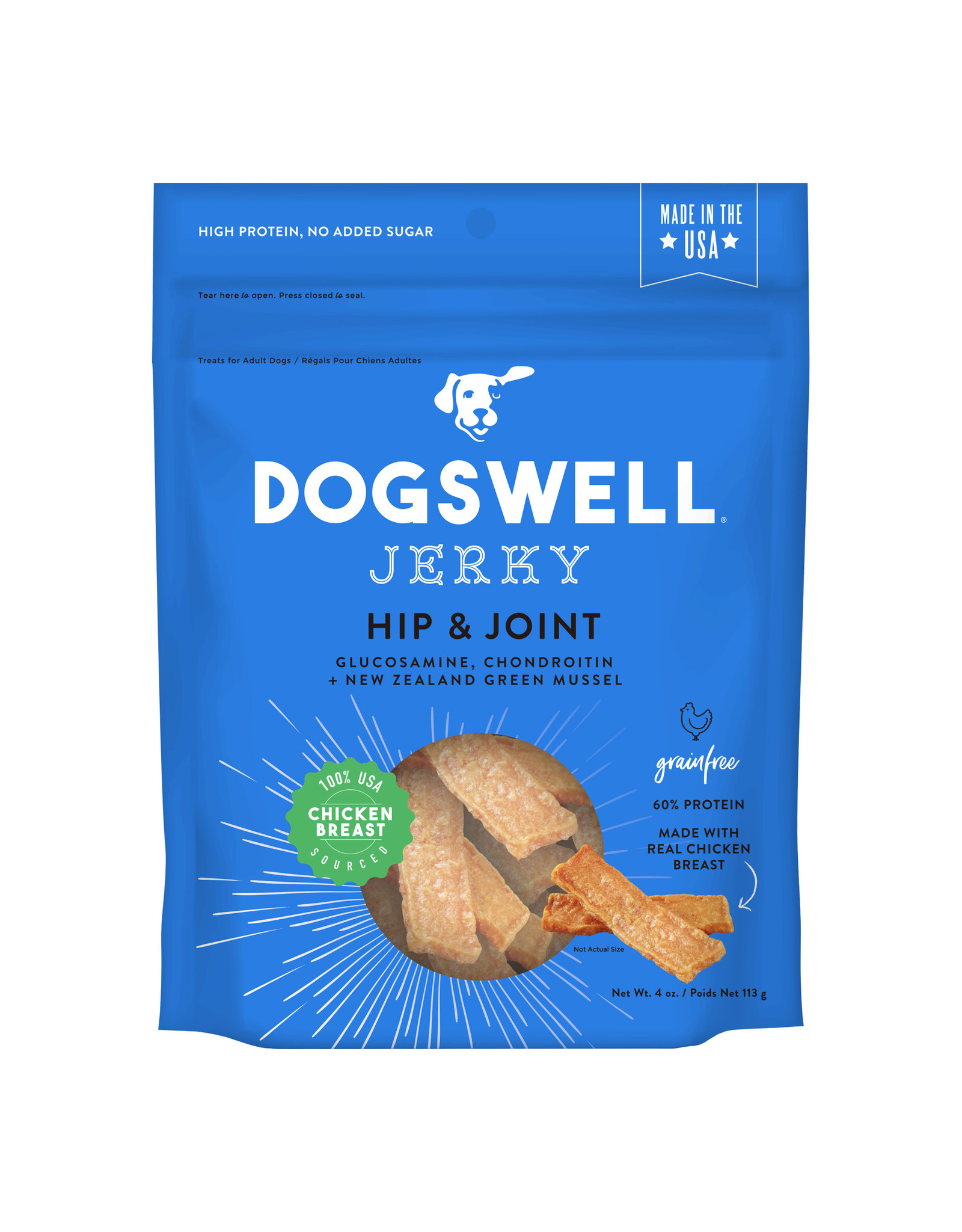Dogswell Dogswell Hip & Joint Chicken Jerky