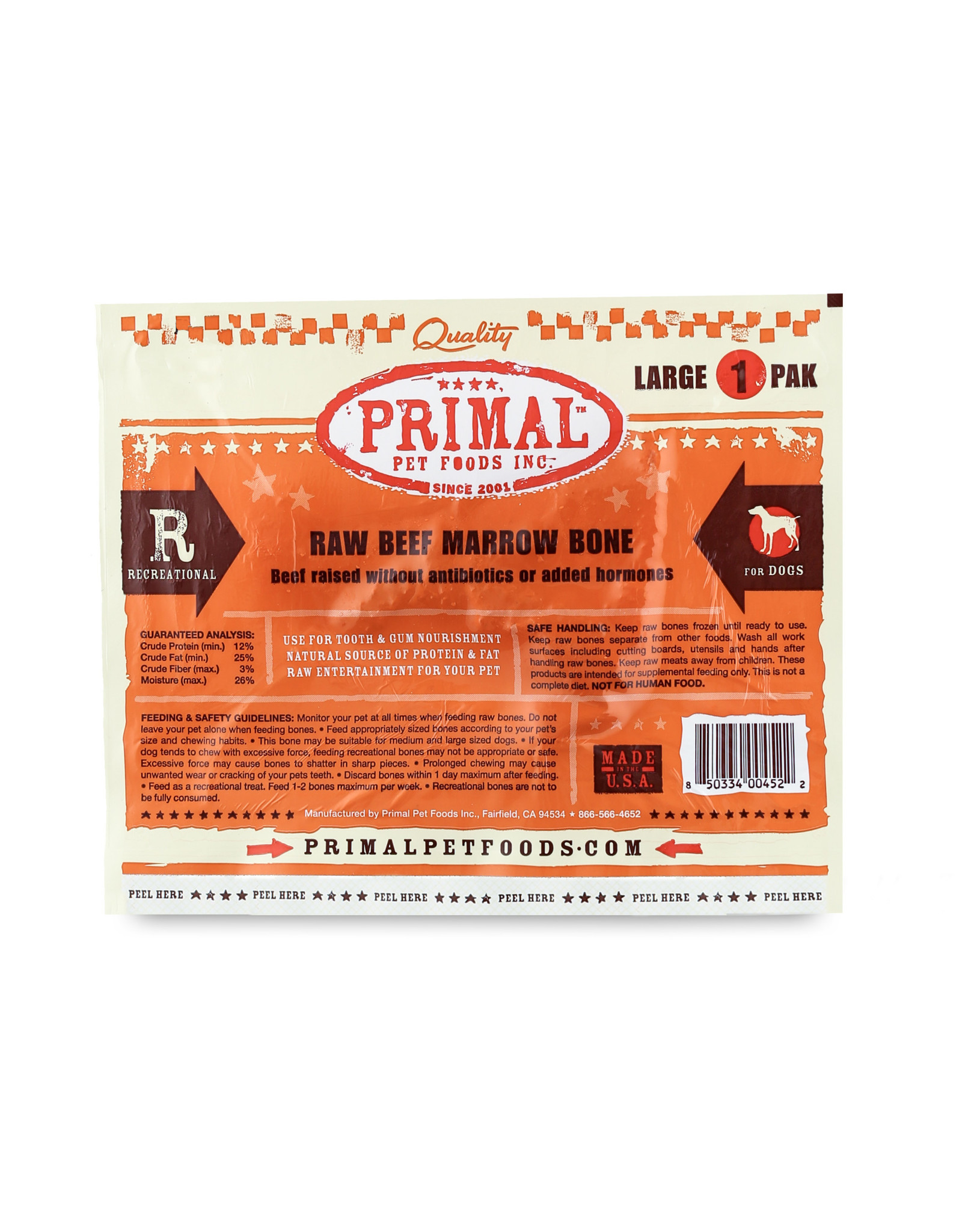 Primal Pet Foods Primal Frozen Raw Recreational Bones