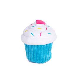 ZippyPaws NomNomz Cupcake - Blue
