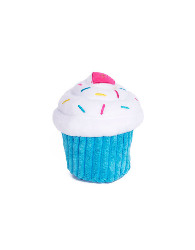 ZippyPaws NomNomz Cupcake - Blue