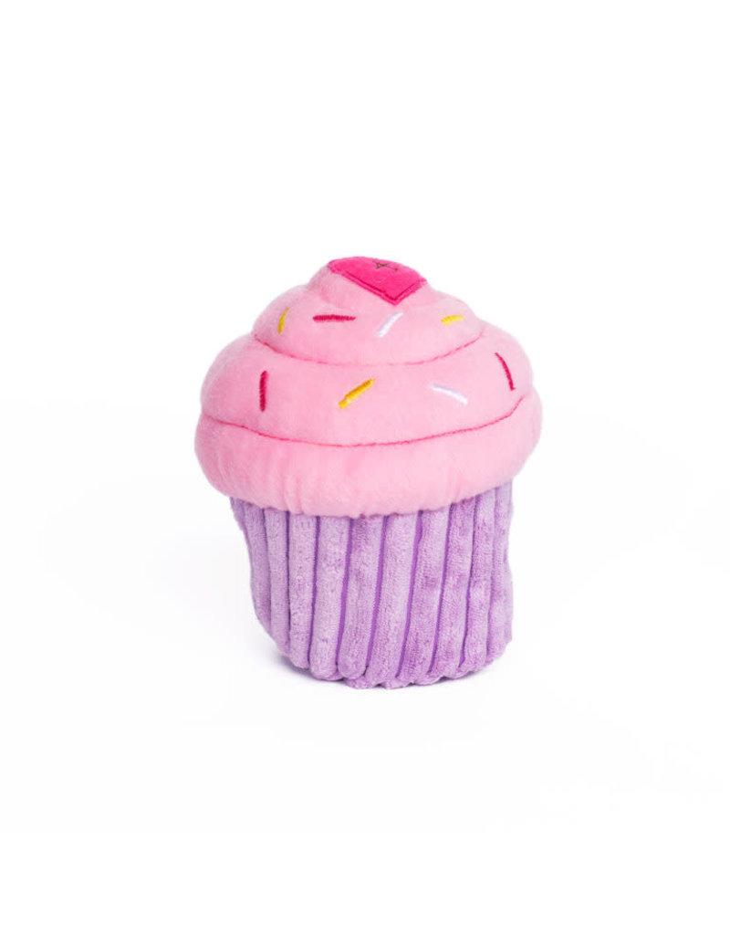 ZippyPaws NomNomz Cupcake - Pink