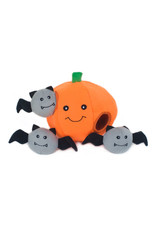 Halloween Burrow - Pumpkin with Bats