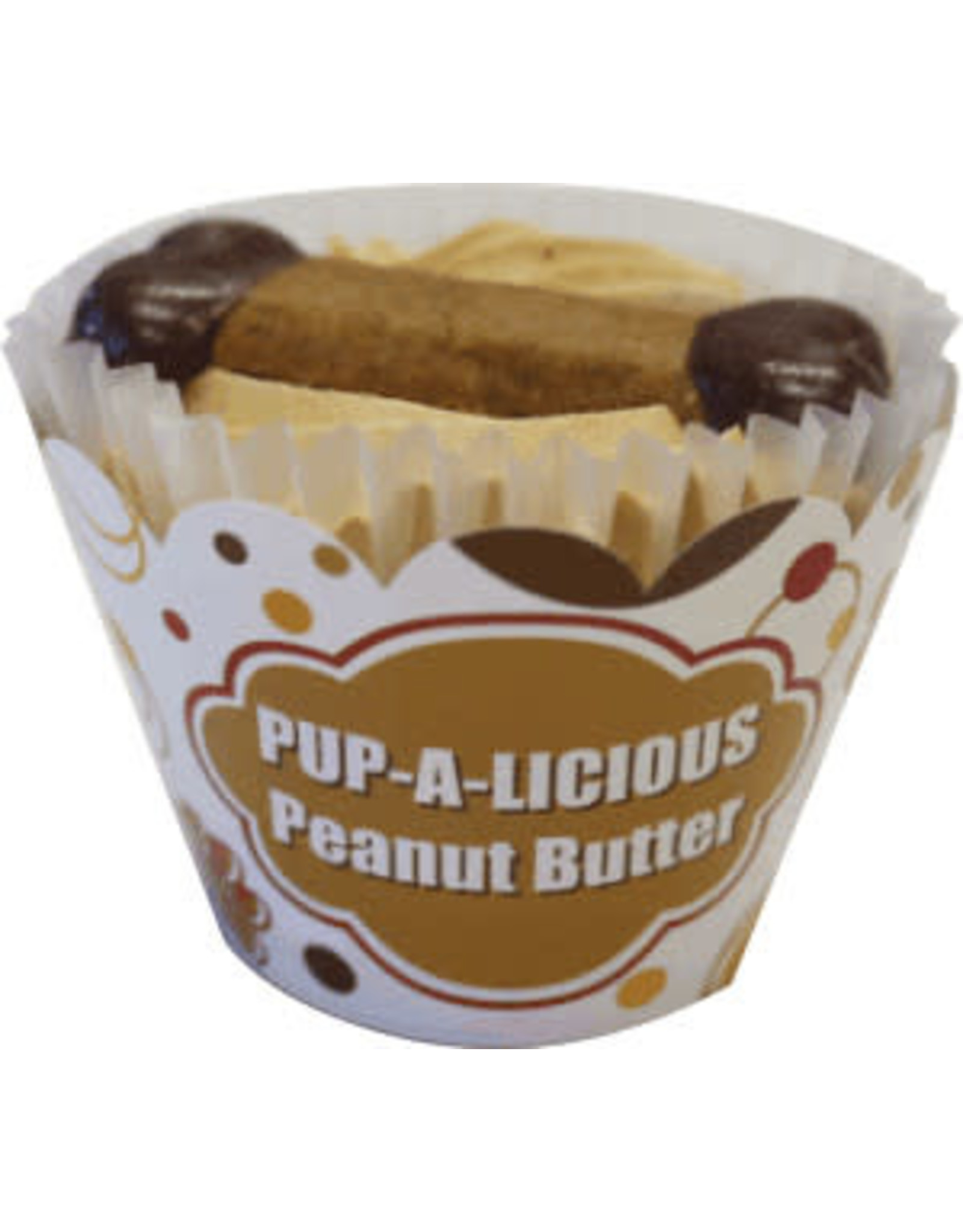 Peanut Butter Cupcake for Dogs