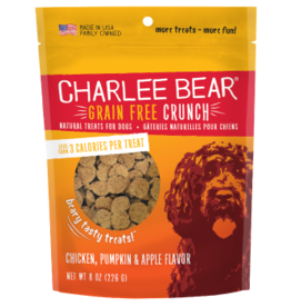 Charlee Bear Charlee Bear Grain Free Crunch Chicken, Pumpkin & Apple Flavor