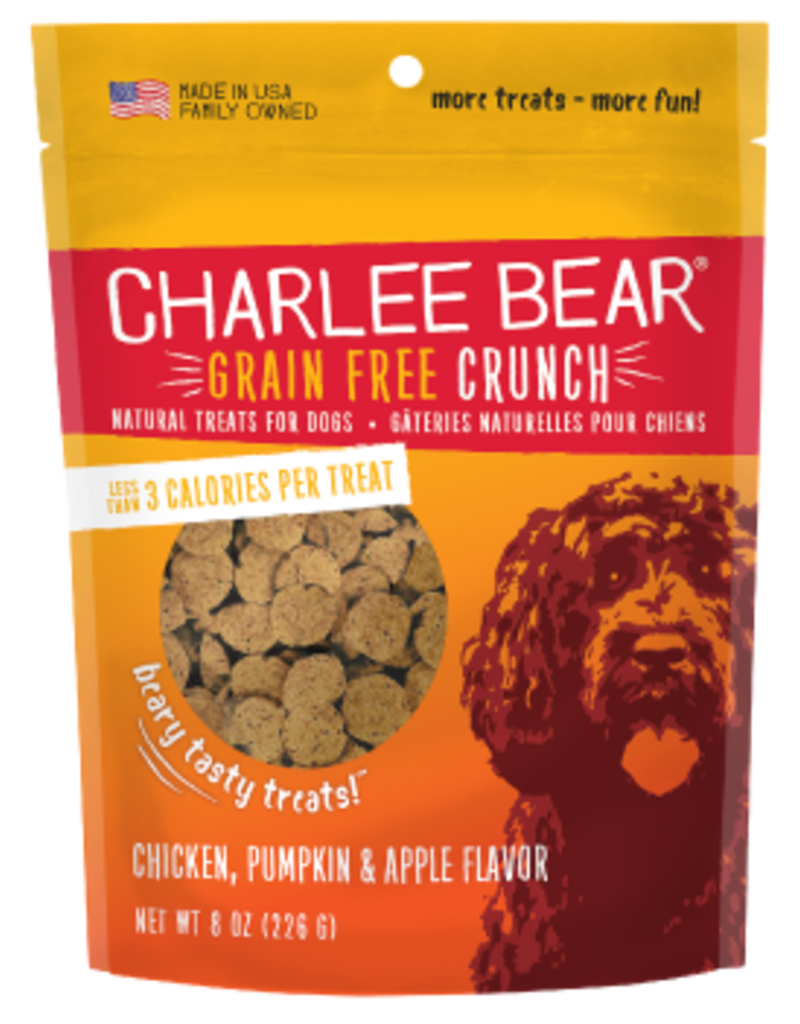 Charlee Bear Charlee Bear Grain Free Crunch Chicken, Pumpkin & Apple Flavor