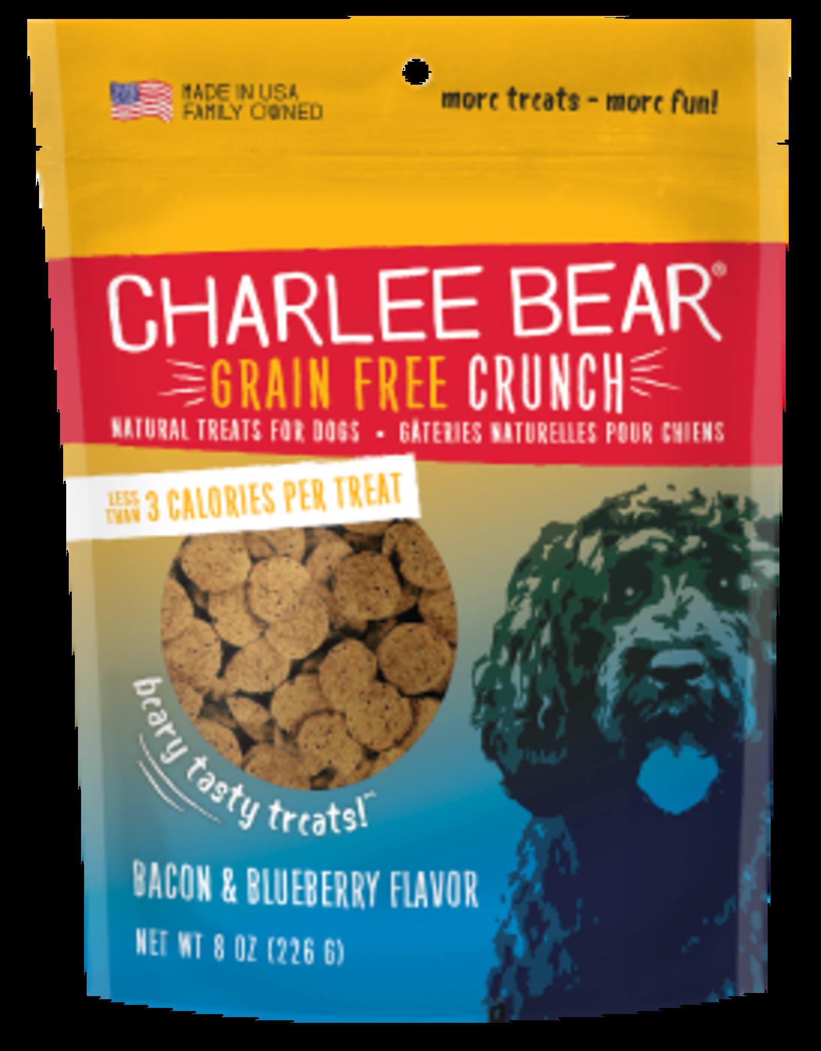 Charlee Bear Grain Free Crunch Bacon & Blueberry Flavor