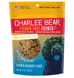 Charlee Bear Grain Free Crunch Bacon & Blueberry Flavor