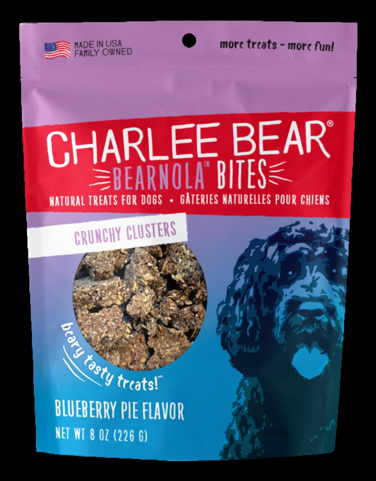 Charlee Bear Bearnola Bites Blueberry Pie Flavor