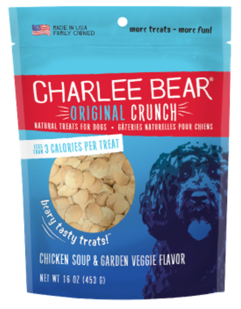 Charlee Bear Charlee Bear Original Crunch Chicken Soup & Garden Veggie Flavor