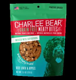 Charlee Bear Meaty Bites Beef Liver & Apples